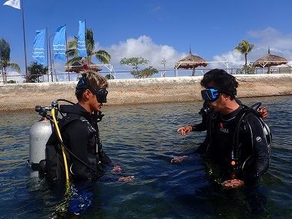ライセンス講習、セブ島の観光ライセンス講習