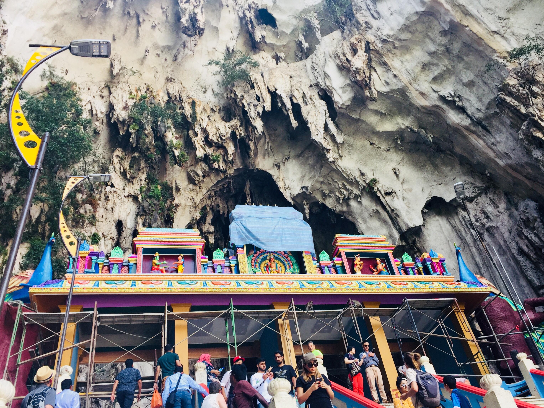 マレーシア・バトゥ洞窟/Batu Caves